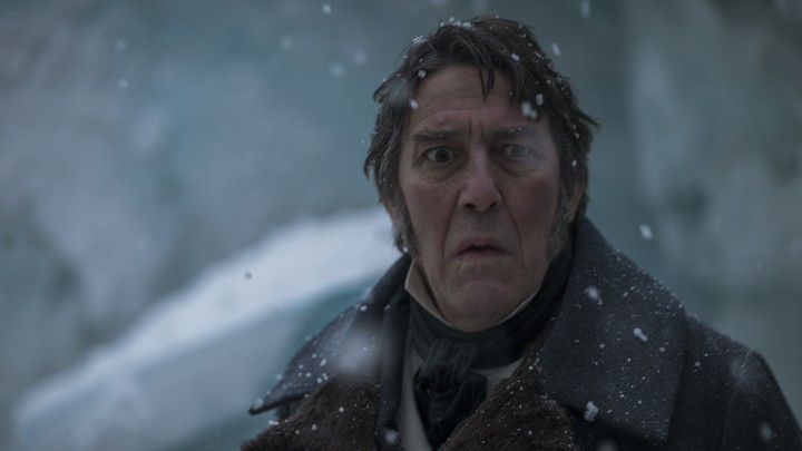 Ciarán Hinds as John Franklin in 'The Terror'