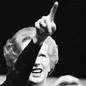 An image of Margaret Thatcher pointing into a crowd set alongside one of Barack Obama sitting at a desk.