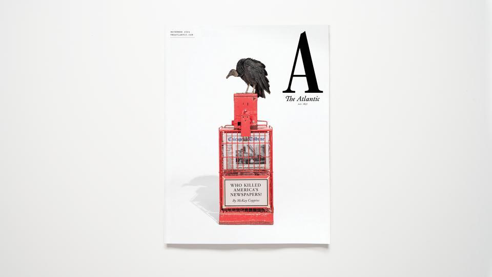 The Atlantic's November cover