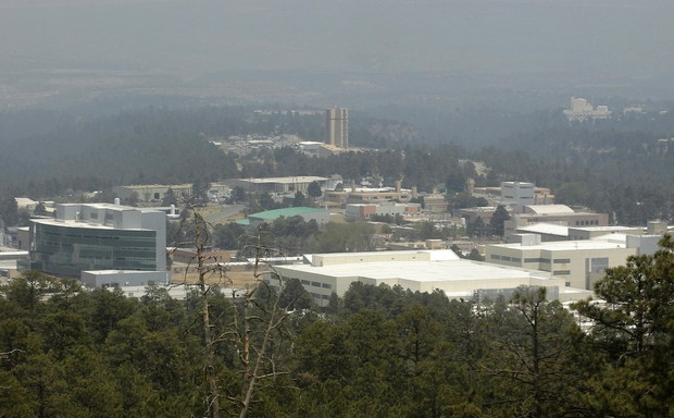 The campus of Los Alamos National Laboratory in New Mexico, a rural magnet for creative-class workers.