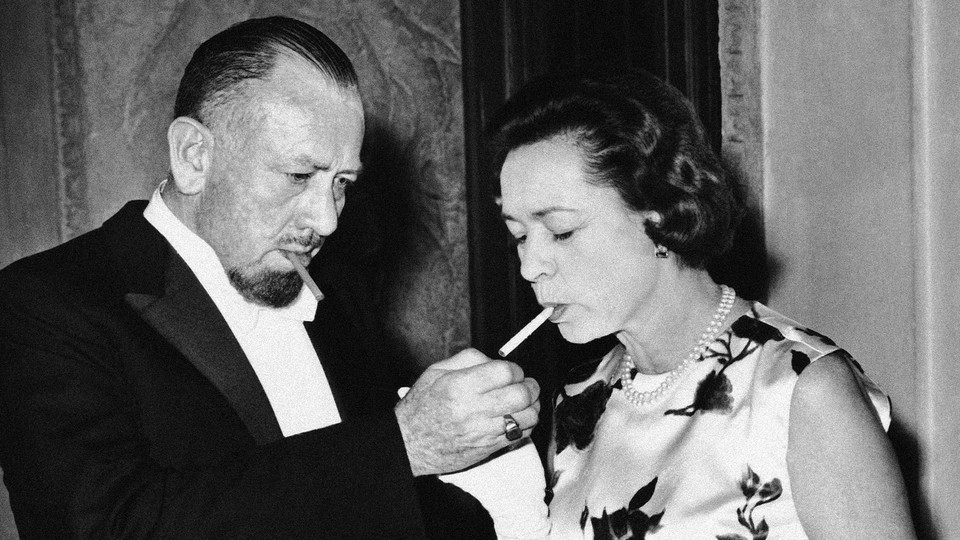 John Steinbeck and his wife