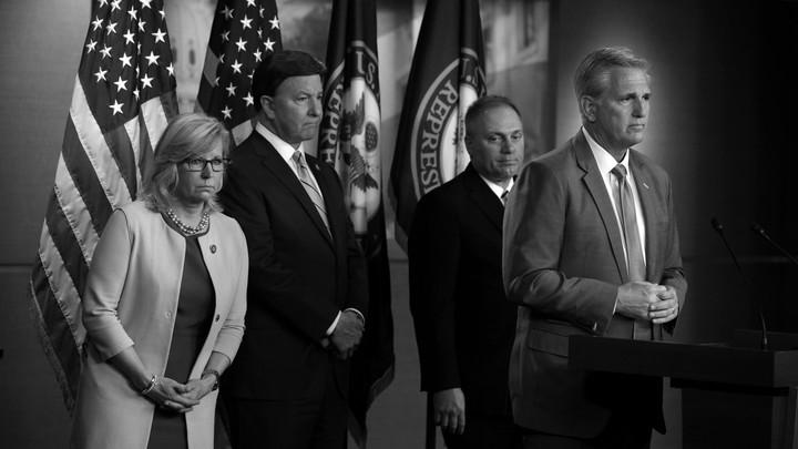 Members of the House Republican leadership team