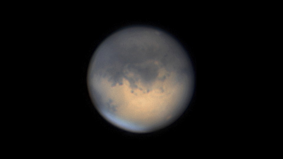A view of Mars from afar