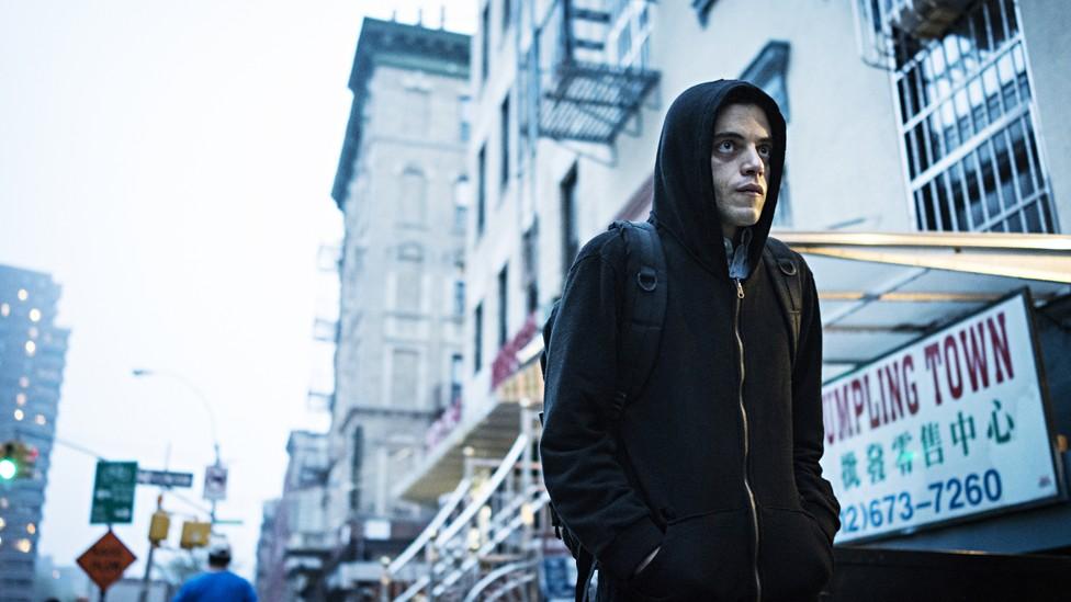 Rami Malek in 'Mr. Robot'