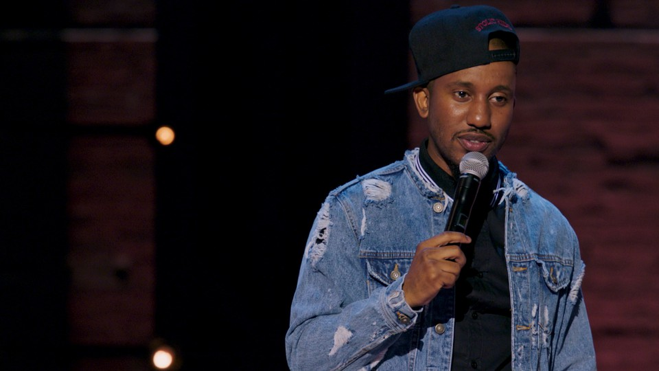 Chris Redd, one of the new 'SNL' cast members, in his Comedy Central special