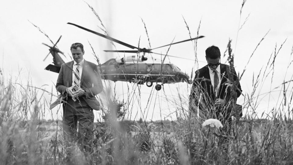 Secret service agents.