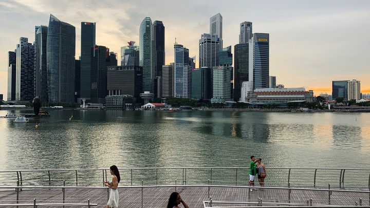A view of Singapore's skyline