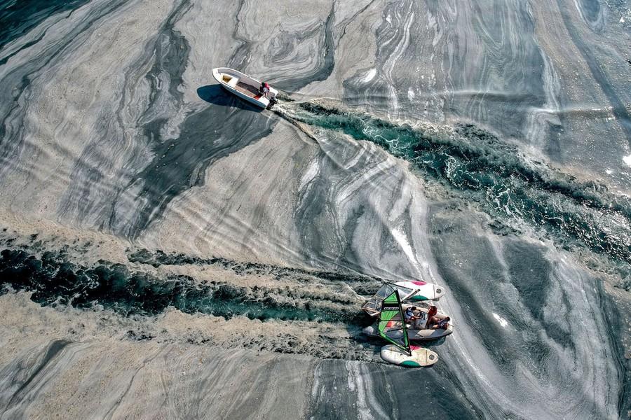 Photos: Turkey's Sea-Snot Disaster