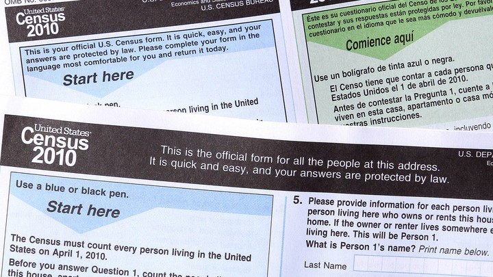 Copies of the 2010 U.S. census