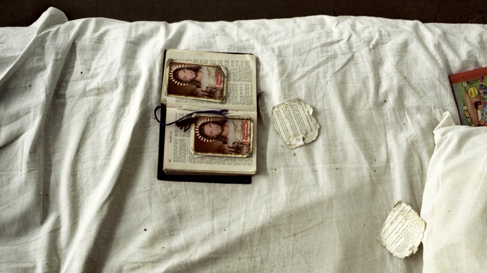 Photo of a bible on a bed
