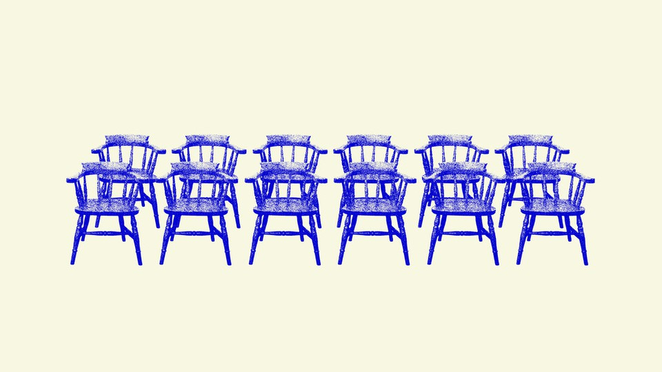 An illustration of chairs