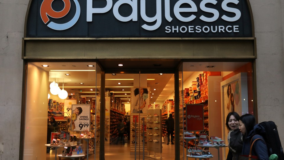 Payless Shoesource, which recently announced that it would be closing 400 stores across the country.