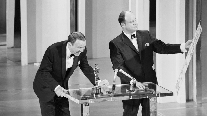 Frank Sinatra and Don Rickles at the 41st Academy Awards
