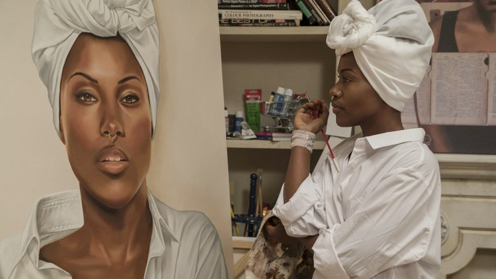 DeWanda Wise in Netflix's 'She's Gotta Have It'