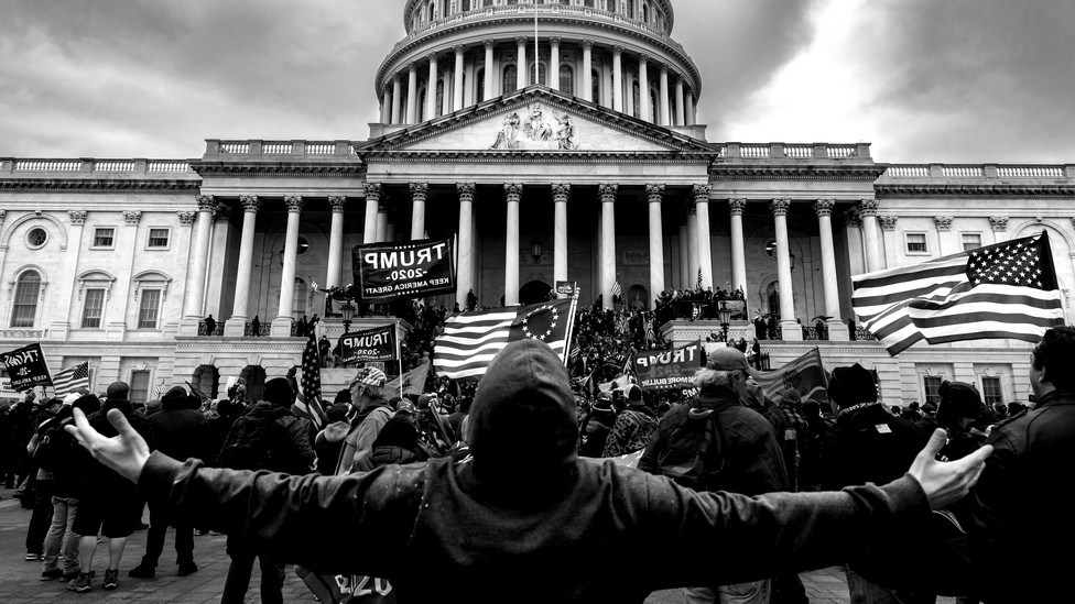 Insurrections at the U.S. Capitol on January 6, 2021.