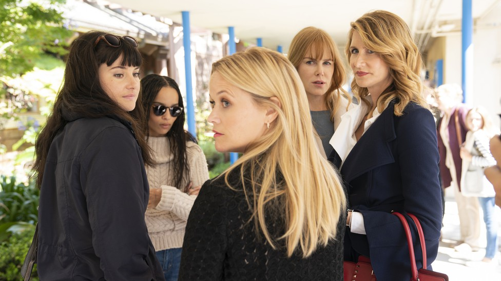"""Madeline (Reese Witherspoon), Renata (Laura Dern), and the rest of the """"Monterey Five"""" are back in """"Big Little Lies"""" Season 2."""