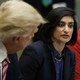 Centers for Medicare and Medicaid Services Administrator Seema Verma at a meeting with President Trump