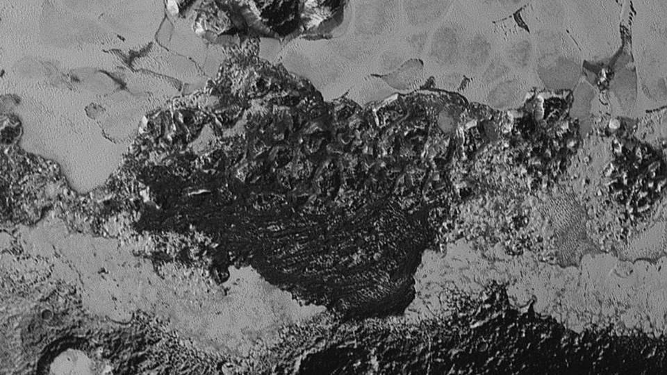 Pluto's methane dunes