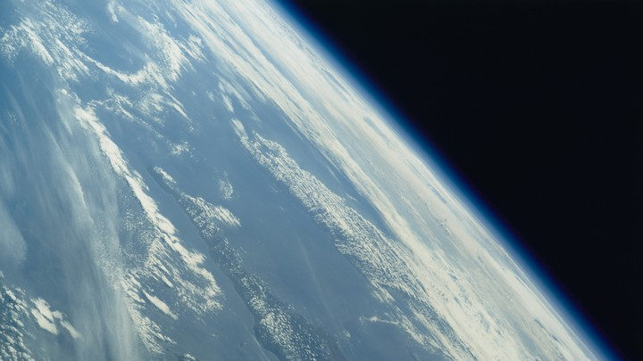 The Earth, as viewed from space