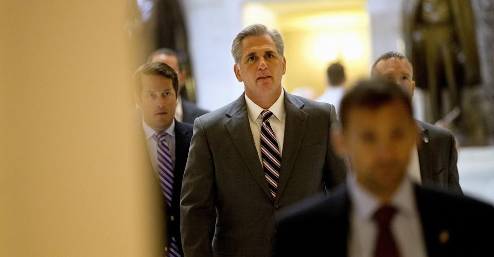 House Majority Leader Kevin McCarthy Announces Run for ...