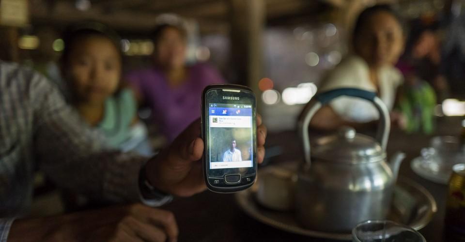 The Facebook-Loving Farmers of Myanmar - The Atlantic