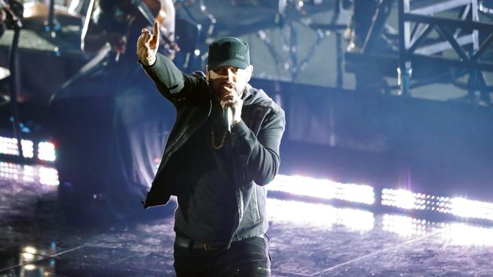 Eminem at the 2020 Oscars