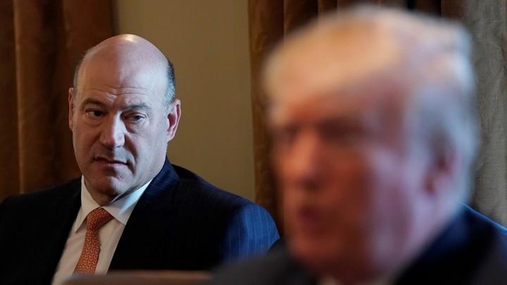 Gary Cohn and Donald Trump