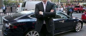 Tesla's Elon Musk: Not a mass transit fan.