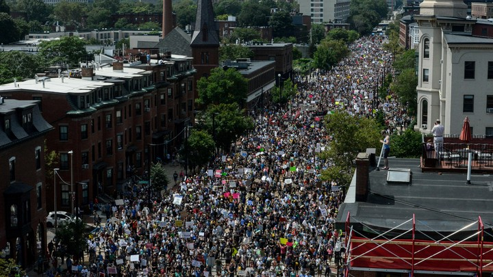 Boston protest