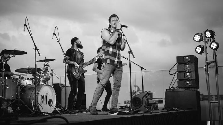 Country artist Morgan Wallen performs onstage