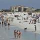 People enjoying spring break in Florida despite the pandemic