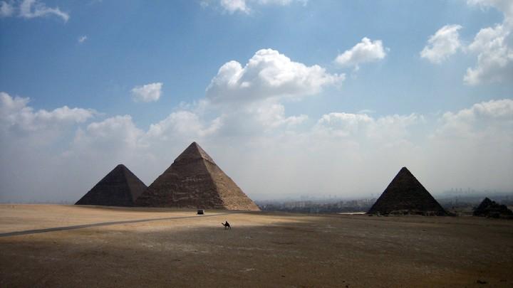 The Giza pyramid complex