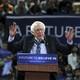Bernie Sanders speaks at a rally in New Jersey in 2016.