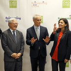 Mayors at a climate summit in December.