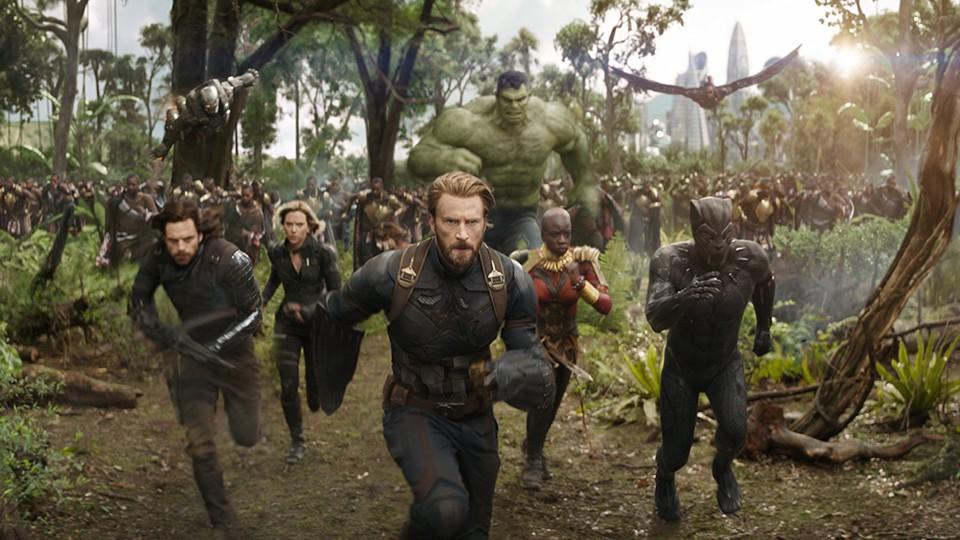 A still from Marvel's 'Avengers: Infinity War'