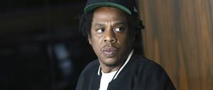 A portrait of Jay-Z.