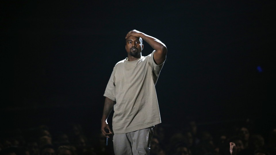 Kanye West at the 2015 MTV Video Music Awards