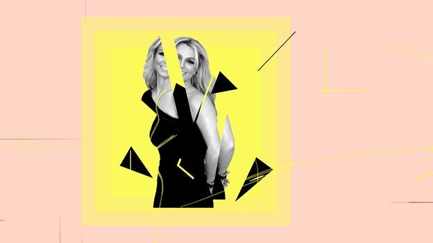 illustration of Britney Spears
