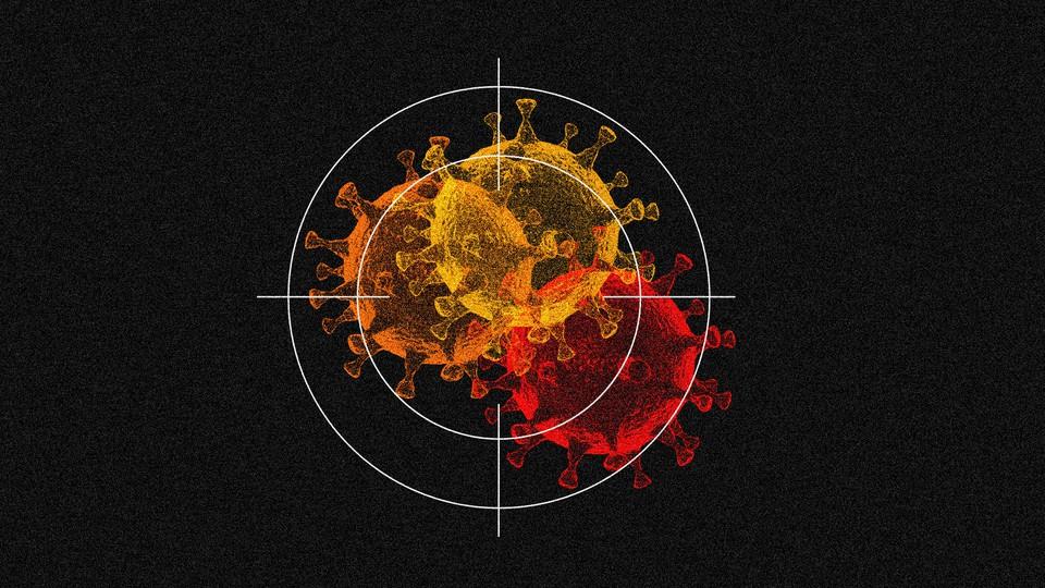 coronavirus variants inside crosshairs