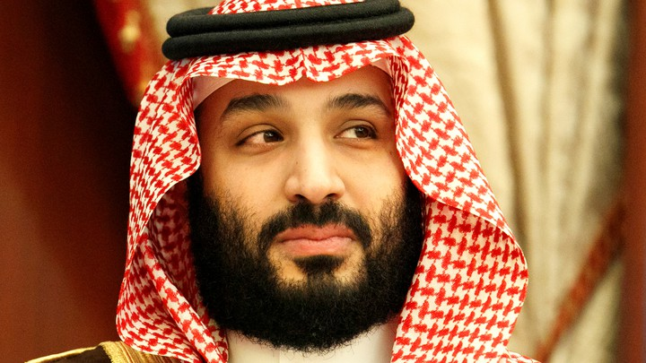 The crown prince of Saudi Arabia, Mohammed bin Salman