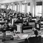 Photo: More than 120,000 enumerators gathered data for the 1940 census.