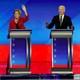 Pete Buttigieg, Elizabeth Warren, Joe Biden, and Bernie Sanders