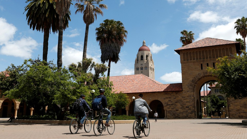The Stanford University campus