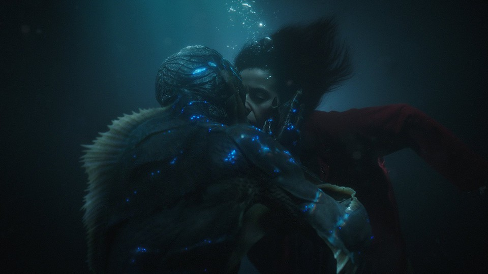 A still from 'The Shape of Water'