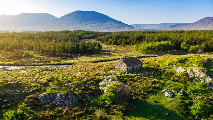 The Connemara region in Ireland