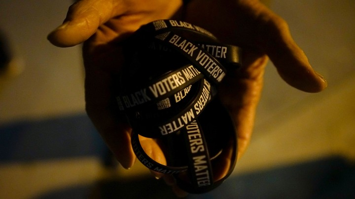 Black Voters Matter wristbands