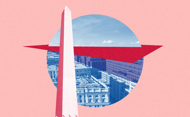 "D.C.'s ""sliced-off"" skyline"