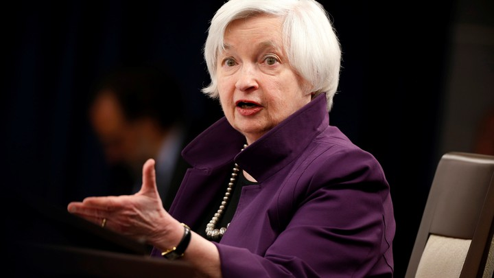 Chairwoman of the Federal Reserve Janet Yellen