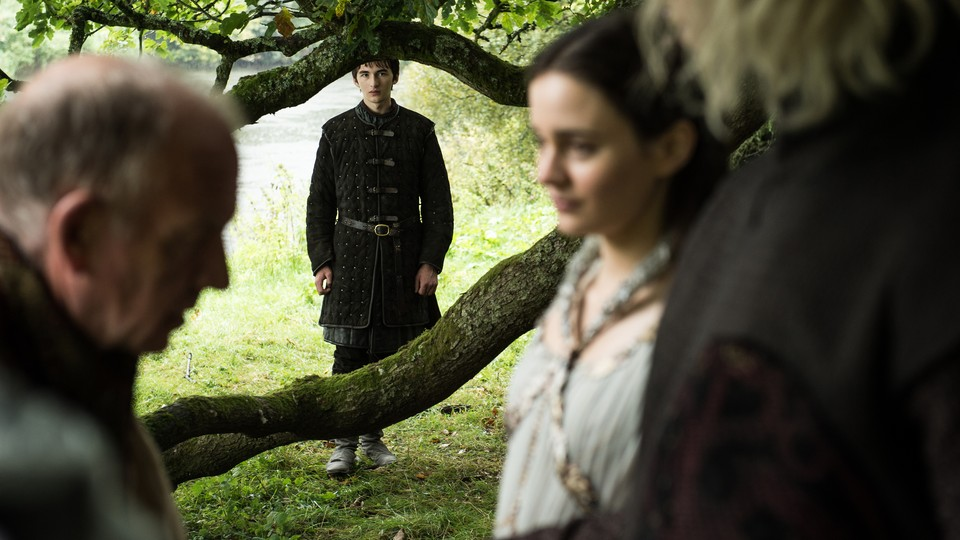 Bran Stark sees the past on 'Game of Thrones'