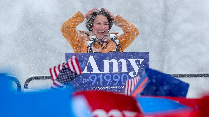 Amy Klobuchar announces her candidacy for the 2020 Democratic presidential nomination.